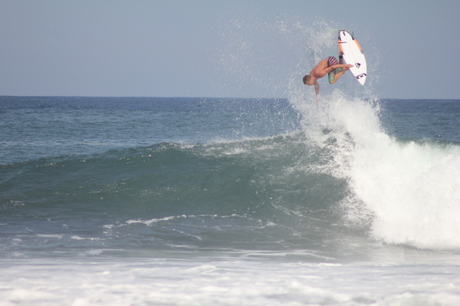 Biggest Air at the Keramas Oakley Pro Contest 2013