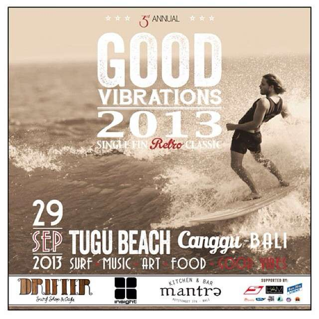 Retro Single Fin Contest at Tugu Beach