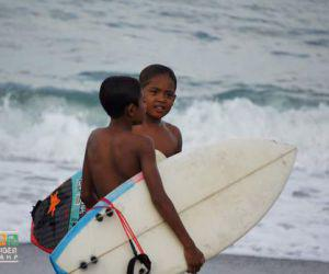The local juniors league at Batu Bolong Bali