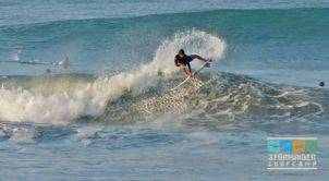 Some air action at Canggu