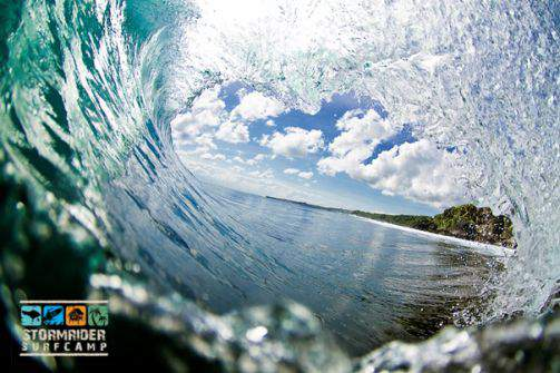 Ride the Tube Luke<br/>One of many tubes on Bali. Want to checkout our Bali Surfcamp Life Images?